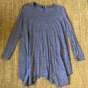 Blue BDG (Urban Outfitters) Long Sleeve Dress